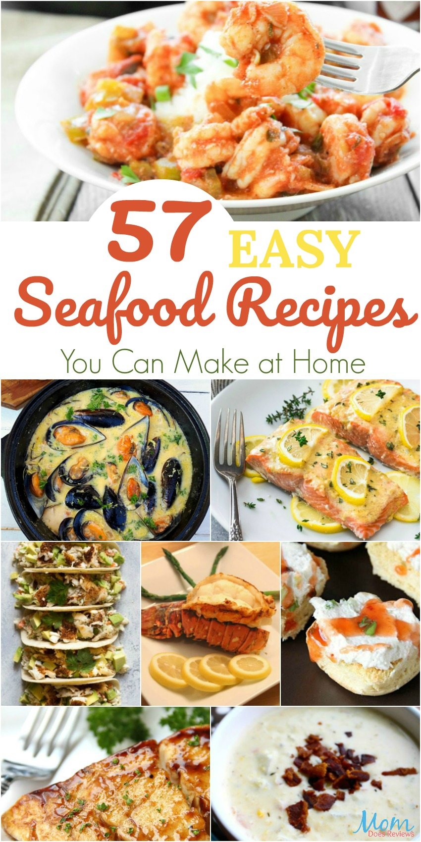 57 Easy Seafood Recipes You Can Make at Home