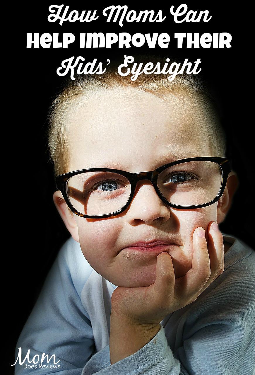 How Moms Can Help Improve Their Kids' Eyesight #health #eyesight #parenting