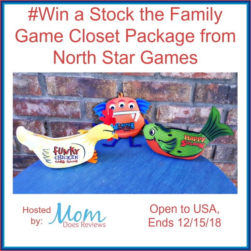 Win a Stock the Family Game Closet Package