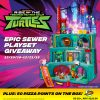 Rise of the Teenage Mutant Ninja Turtles, Epic Sewer Lair Giveaway