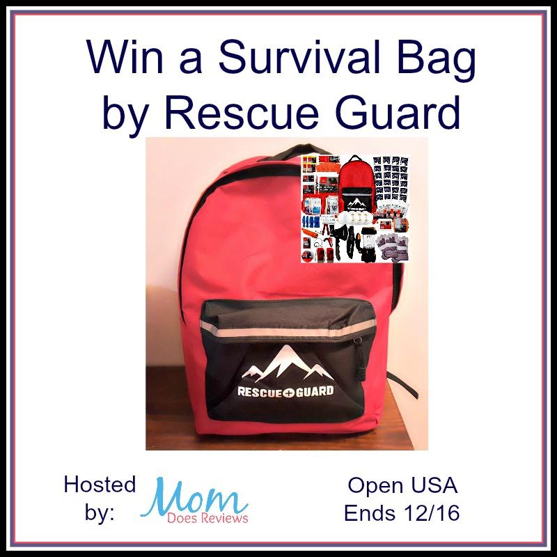 Survival Bag Giveaway