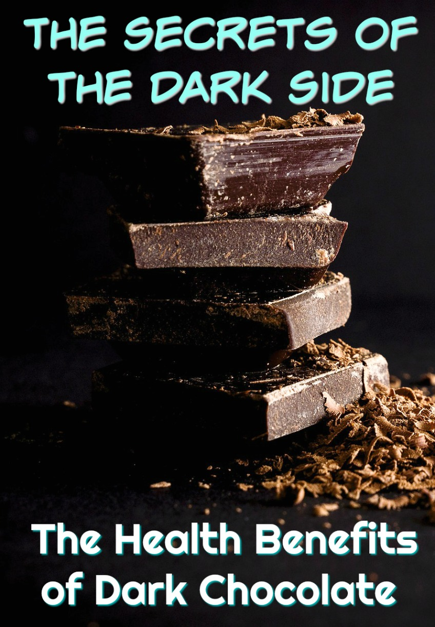 The Secrets of the Dark Side: The Health Benefits of Dark Chocolate #chocolate #darkchocolate #healthbenefits