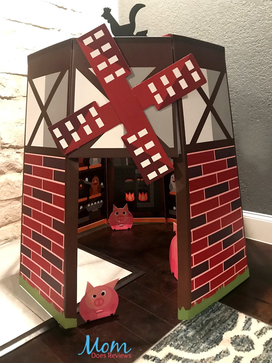 The Sharing Land Windmill Farm Playhouse perfect for kids and sets up in minutes