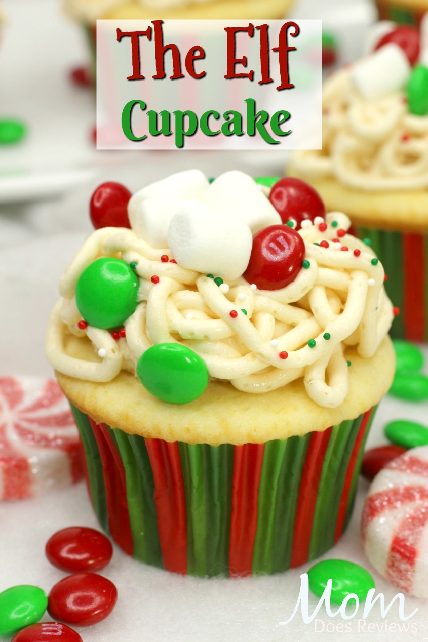 The Elf Cupcake #Christmas #cupcakes #sweets #getinmybelly #elf