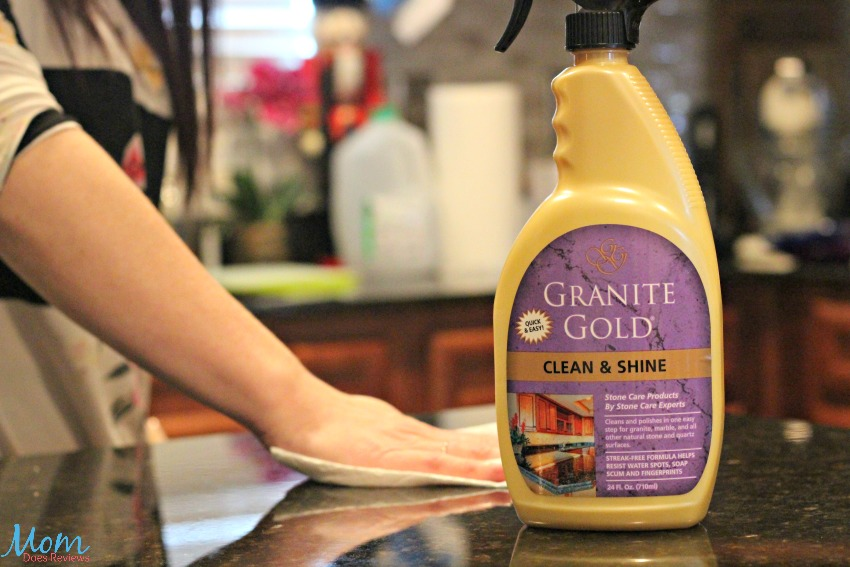 Shine Which Is Made For Granite Marble And All Other Natural Stone Quartz Surfaces This Simple Product Makes Keeping My Clean Shiny