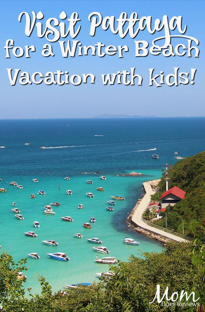 Winter Beaching: Pattaya with Kids #travel #vacation #beach #traveling