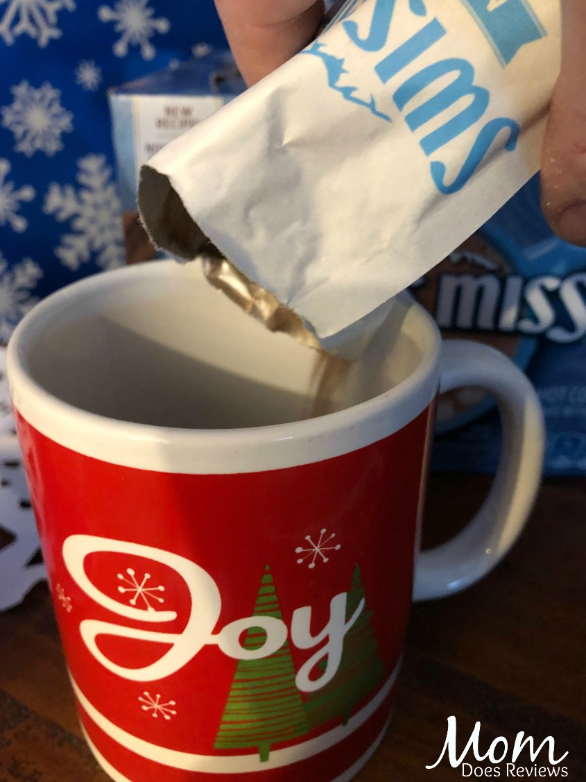 Swiss Miss Cup of Cozy- Warm up with Peppermint Stick Cocoa! #SwissMissMoments