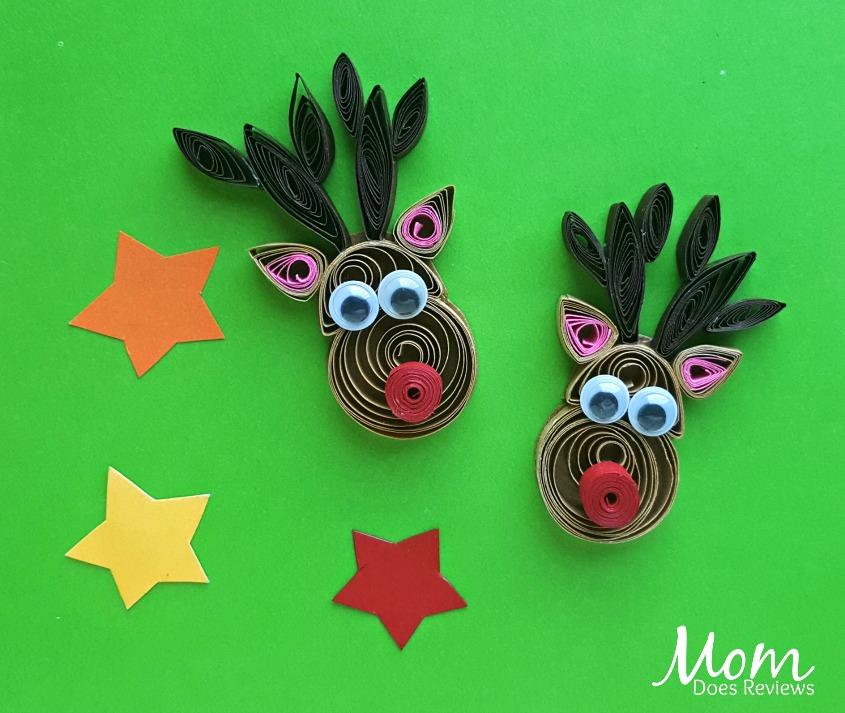 Quilled Reindeer #Craft