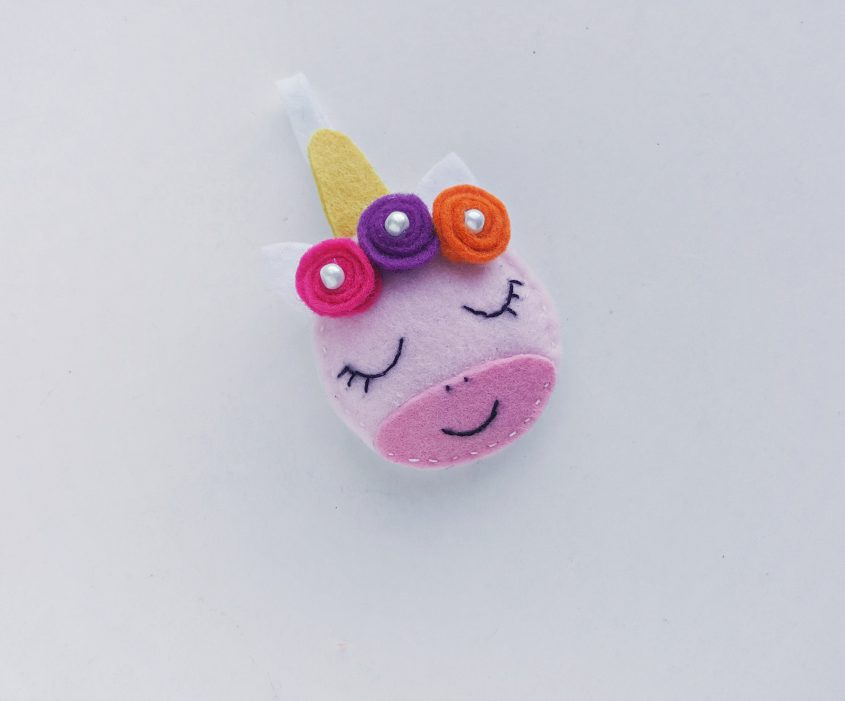 Felt Unicorn Ornament