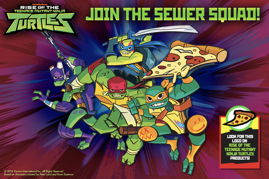 #Win Rise of the Teenage Mutant Ninja Turtles, Epic Sewer Lair US ends 12/21