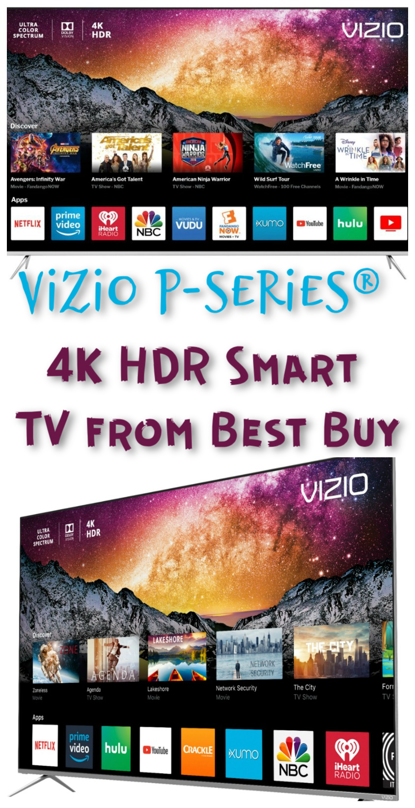 Get the Greatest Entertainment Experience with VIZIO P-Series® 4K HDR Smart TV #BestBuy #ad #Vizio #technology
