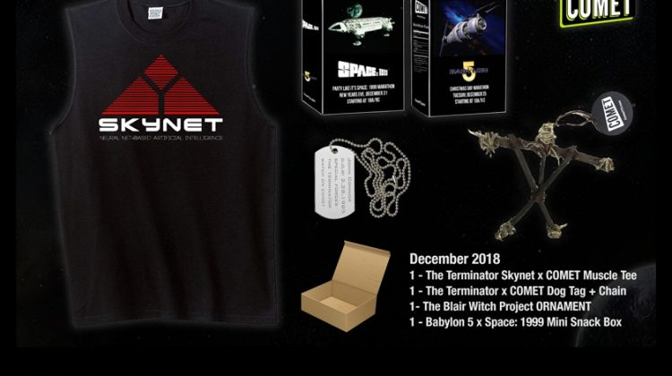 COMET & CHARGE! December Giveaway! #CometTV