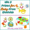 #Win 3 Prizes for Baby from Kiddolab