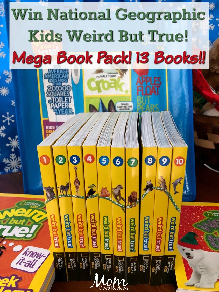 National Geographic Kids Weird But True! Mega Book Pack