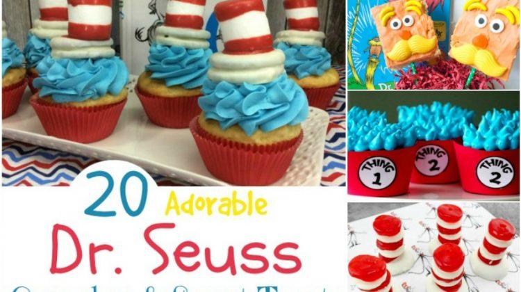 20 Adorable Dr. Seuss Cupcakes & Sweet Treats