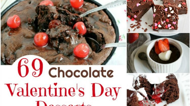 69 Chocolate Valentine's Day Desserts to Sweeten Your Day #Sweet2019