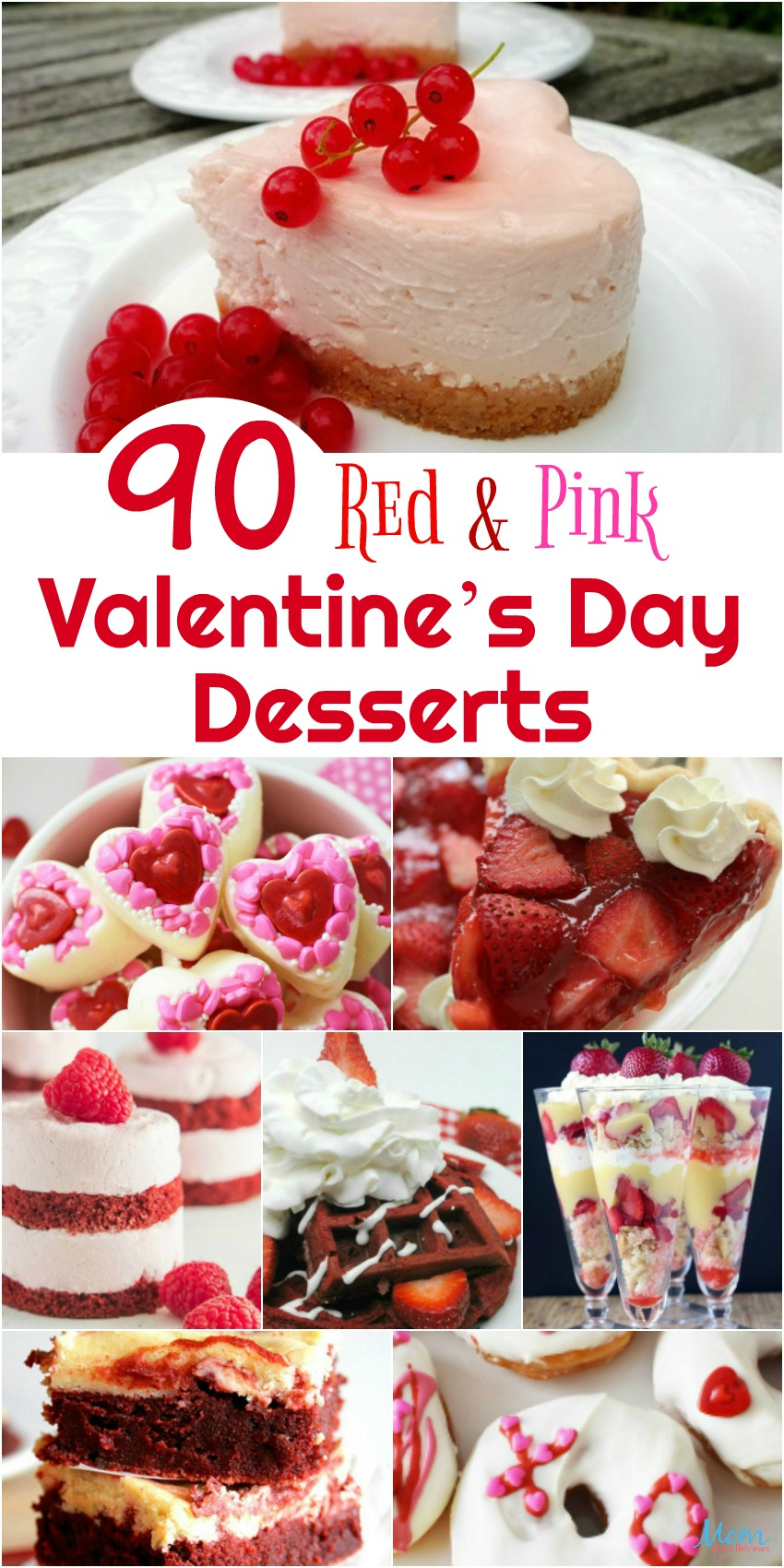 90 Red & Pink Valentine's Day Desserts to WOW Your Sweetheart! #Sweet2019 #desserts #valentinesday #yummy #cupcakes #cakes #redvelvet