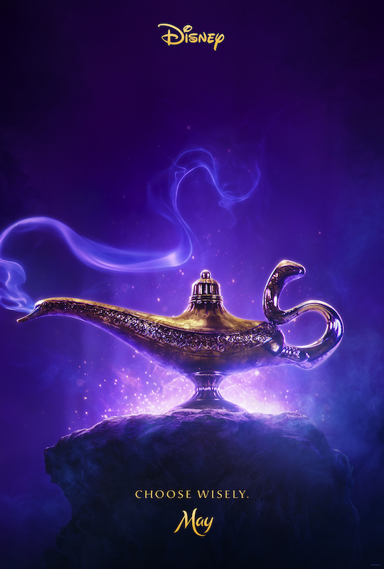 ALADDIN - Teaser Trailer & Poster Now Available #Aladdin