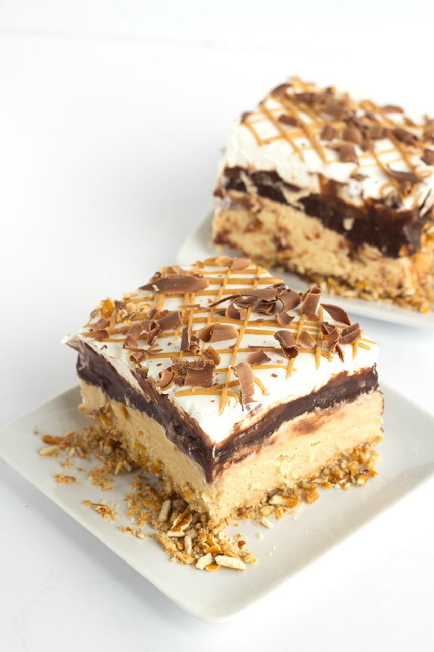 Chocolate Peanut Butter Layer Dessert