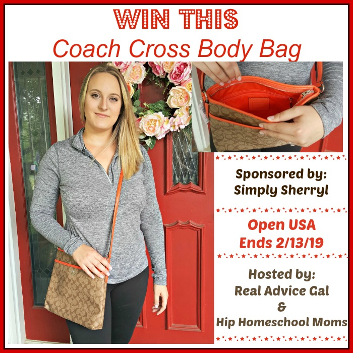 Coach Cross Body Bag #Giveaway