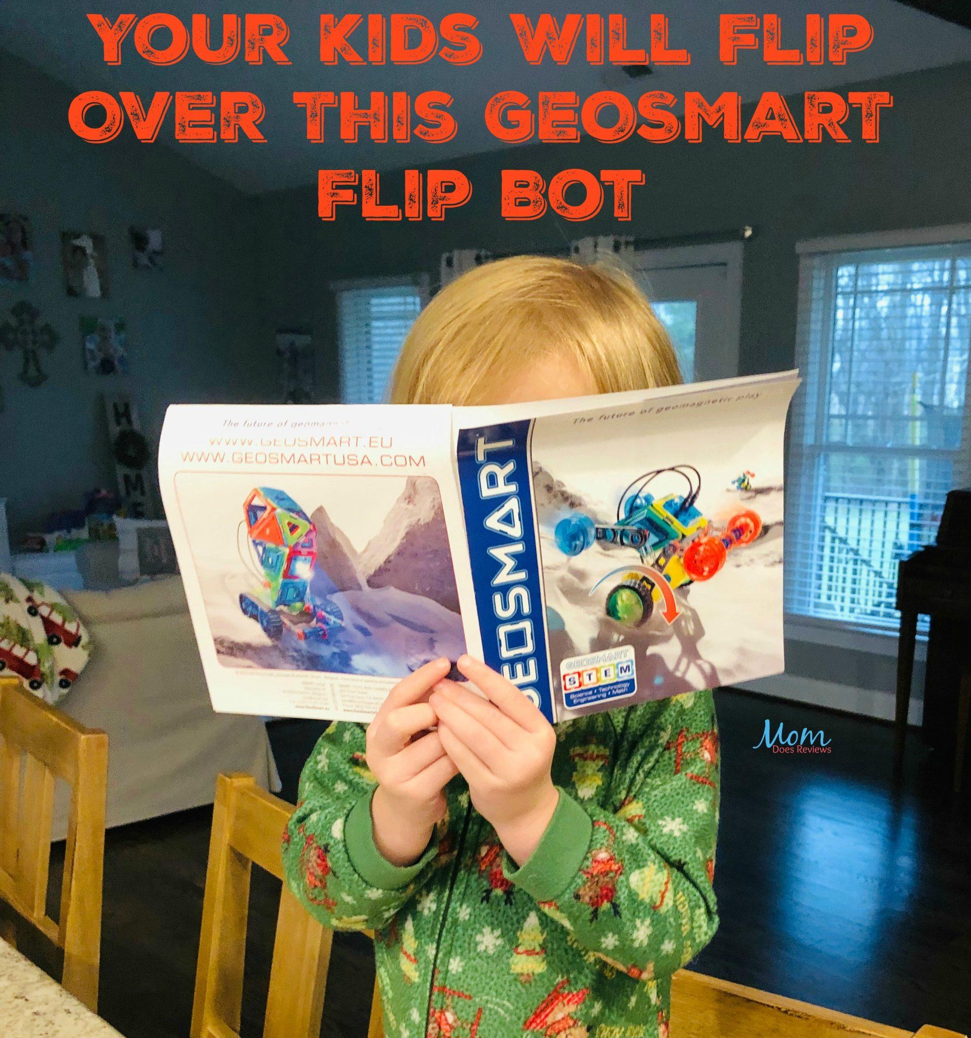 Your Kids Will Flip Over This GeoSmart Flip Bot #Sweet2019