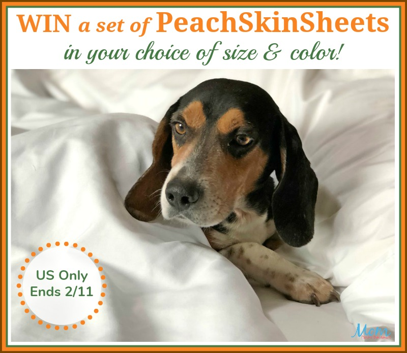 #Win PeachSkinSheets in your choice of size and color! #Sweet2019