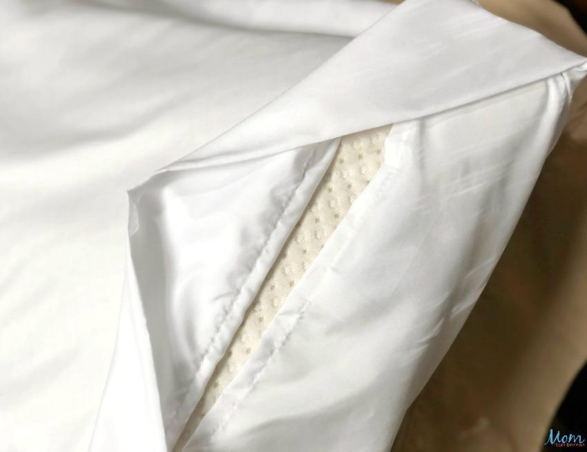 PeachSkinSheets Envelope Closure on Pillowcases