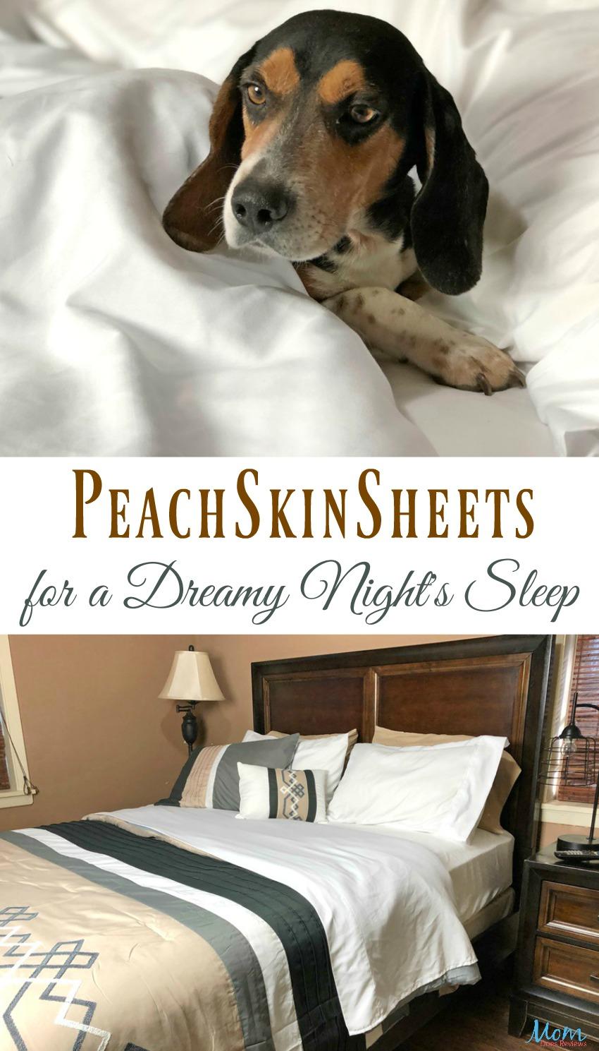 PeachSkinSheets for a Dreamy Night's Sleep #Sweet2019