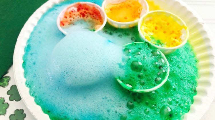 Easy Rainbow Science Experiment for kids