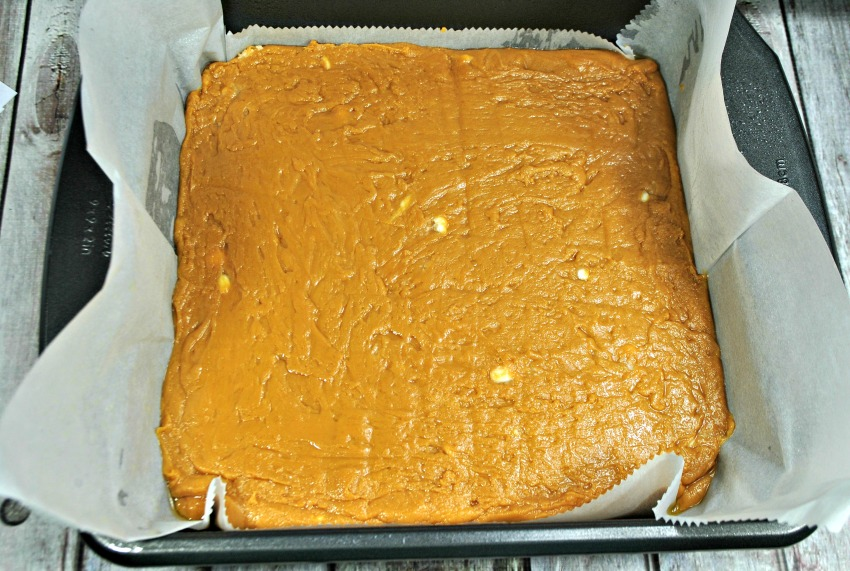 Salted Caramel Fudge process