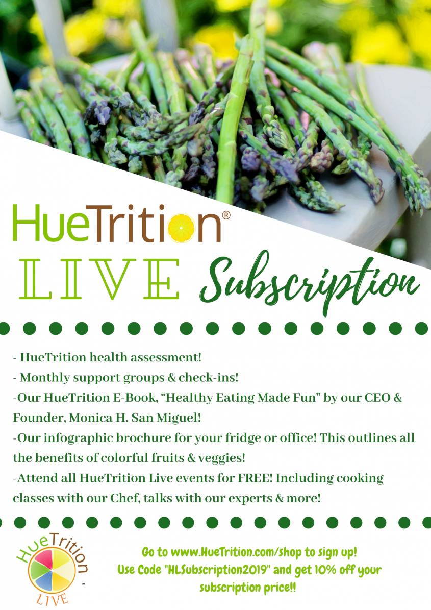 HueTrition Live subscription coupon
