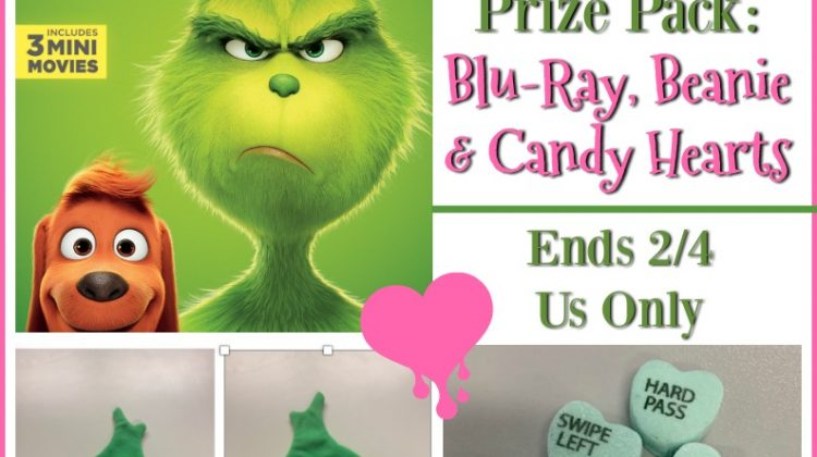 #Win Dr Seuss' The Grinch Prize Pack #TheGrinch #giveaway #movie