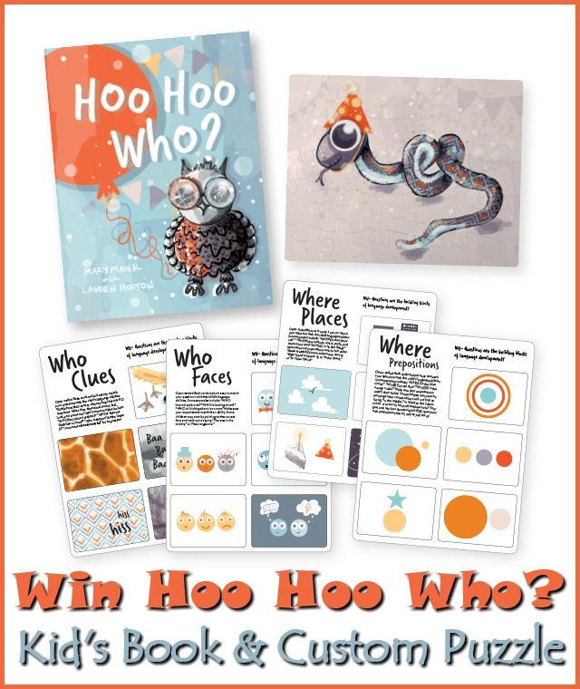 #Win Hoo Hoo Who? Kid's Book & a Custom Puzzle