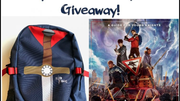 #Win THE KID WHO WOULD BE KING Backpack and Activity Book! US/CAN Ends 2/1 #KidWhoWouldBeKing