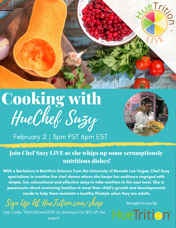 Huetrition Chef Suzy Event