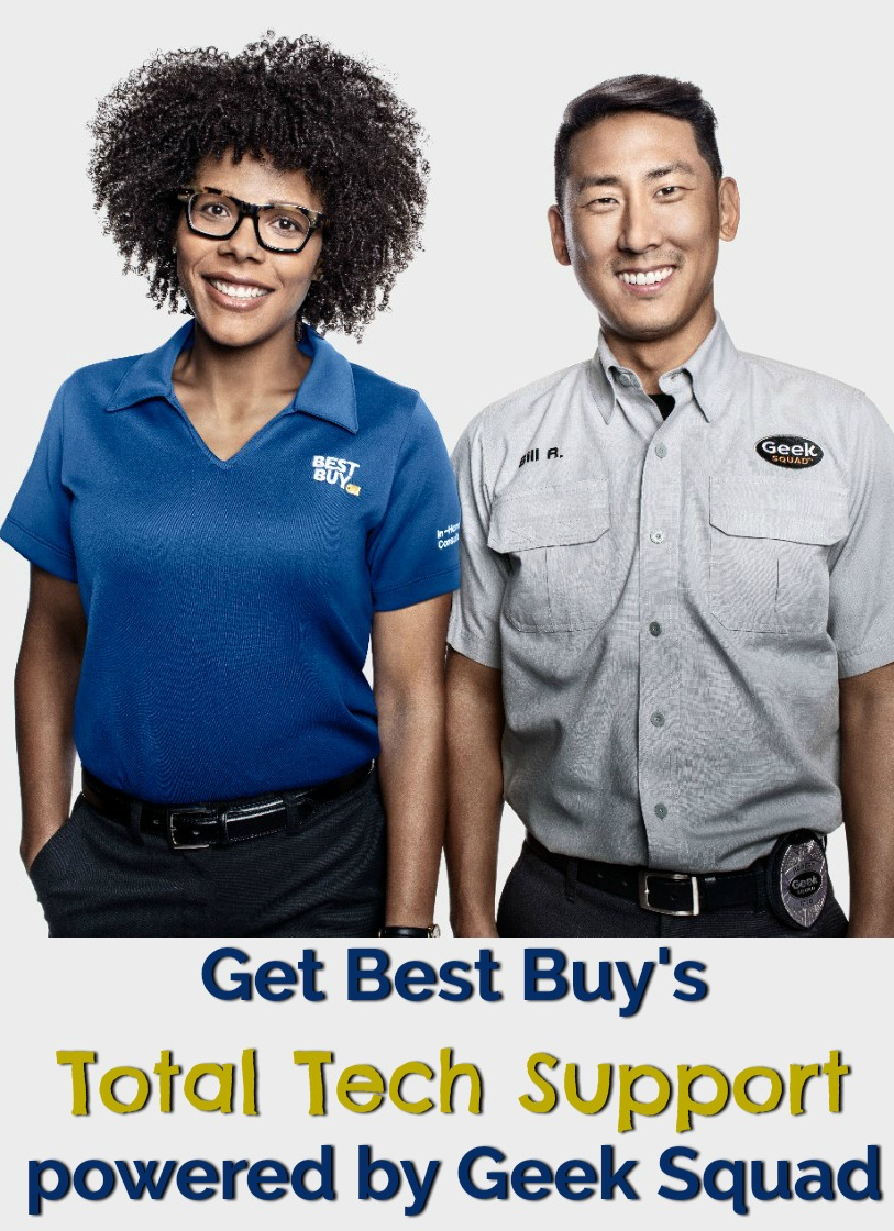 Get Best Buy's Total Tech Support powered by Geek Squad for all your Tech Needs! #TotalTechSupport #ad #bestbuy #technology
