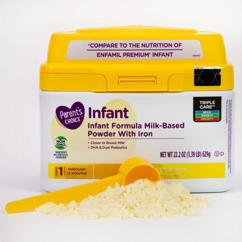 Parents Choice infant formula