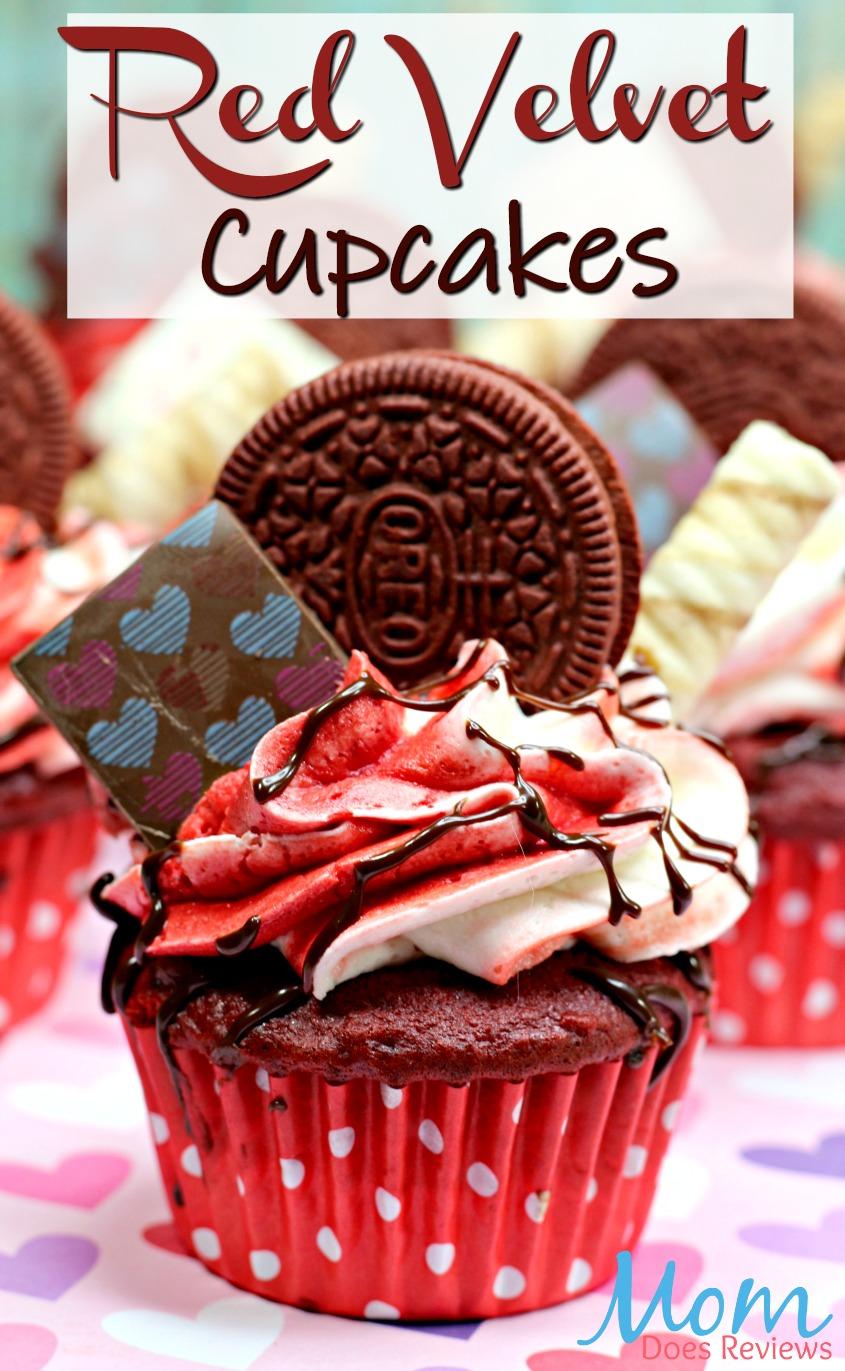 Red Velvet Cupcakes #sweet2019 #desserts #cupcakes #redvelvet #valentinesday