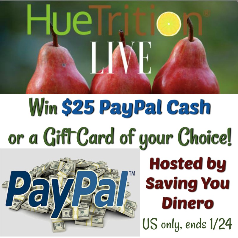 Win 25 Paypal or GC of choice