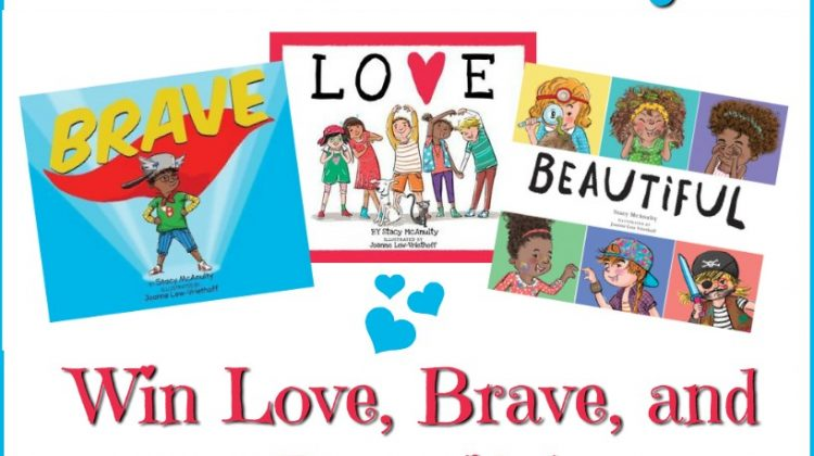 Valentine's Day 3-Book #Giveaway! Love, Brave, and Beautiful by Stacy McAnulty #Sweet2019