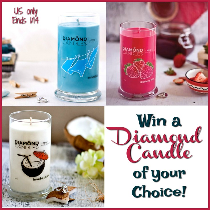 #Win Diamond Candle of your choice
