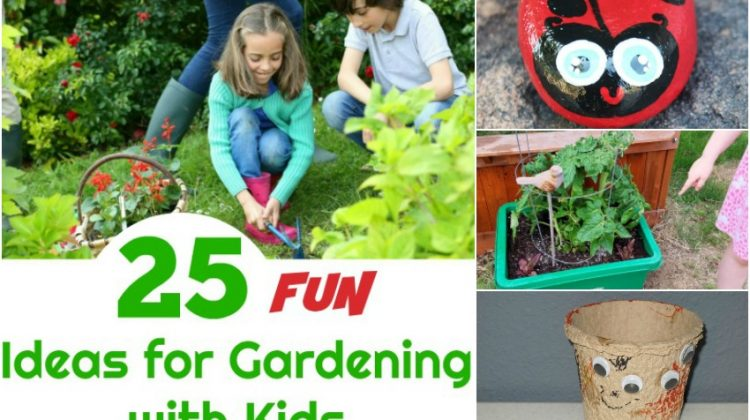 25 Fun Gardening with Kids Ideas to Spark Their Interest