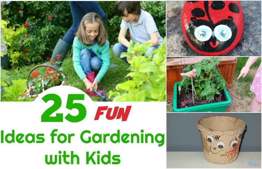 25 Fun Gardening with Kids Ideas to Spark Their Interest