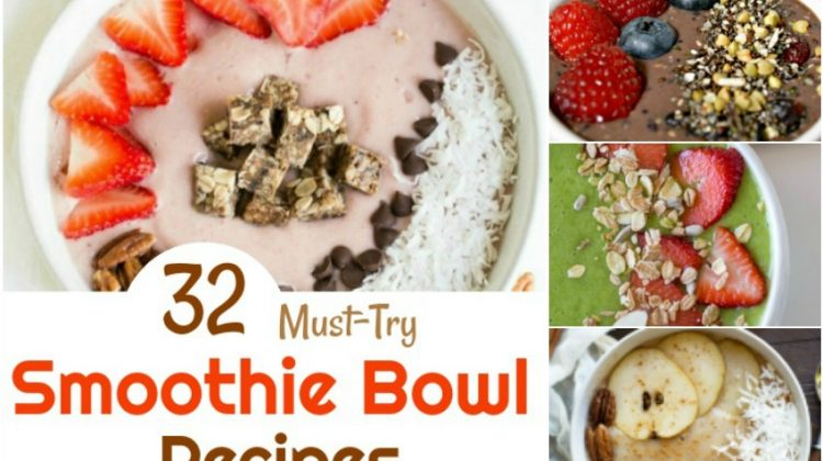 32 Must-Try Smoothie Bowl Recipes You Will Love