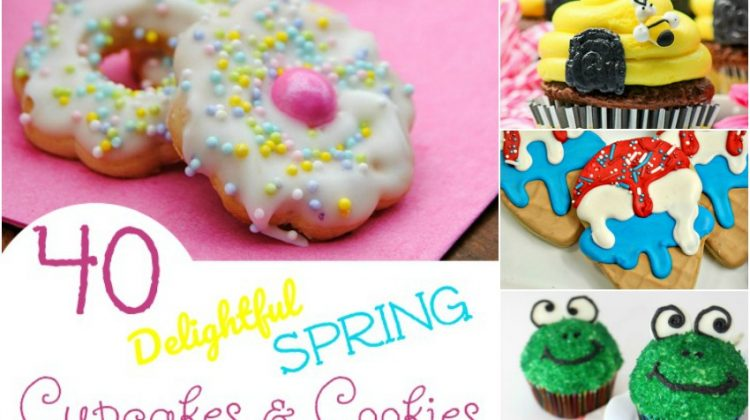 40 Delightful Spring Cupcakes & Cookies that Will Make You Smile
