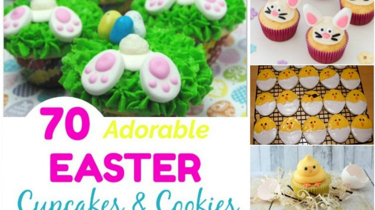 70 Adorable Easter Cupcakes & Cookies that will Bring a Smile
