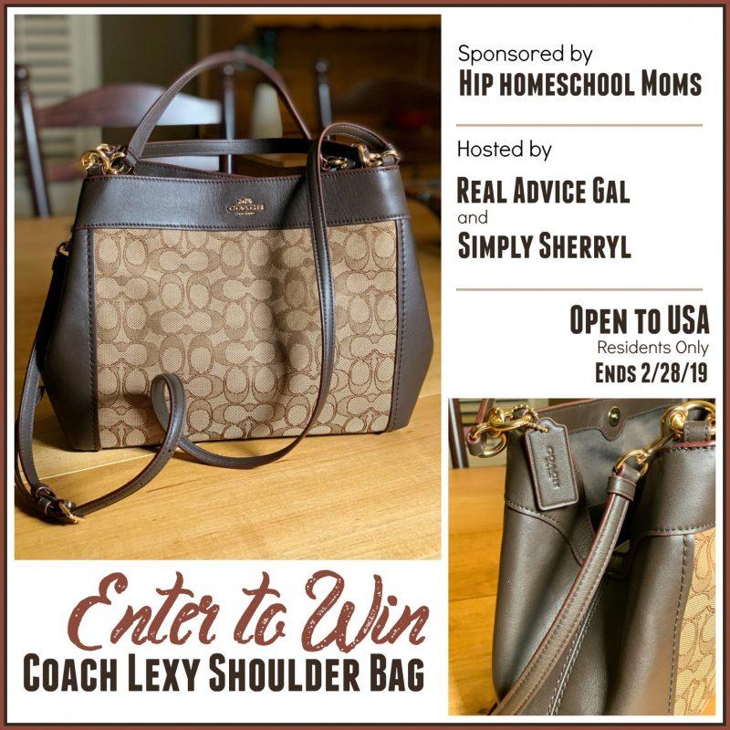 #Win a Coach Lexy Shoulder Bag! US ends 2/28