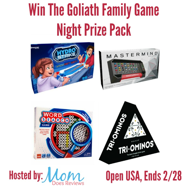 Win Goliath Family Game Night Prize Pack