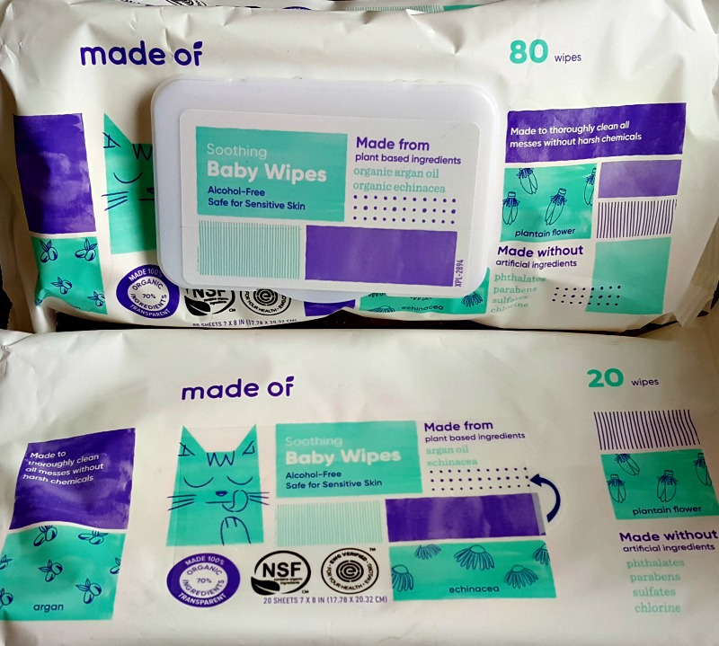 Clean and Nurture Your Baby's Skin with MADE OF Products