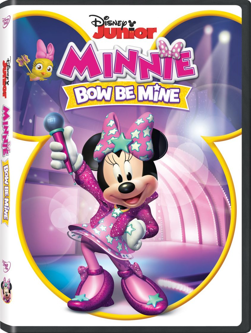 Disney Junior presents Minnie: Bow Be Mine available now on Disney DVD!
